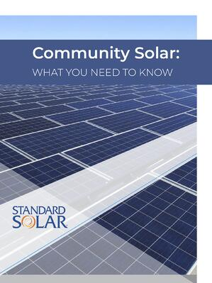 Community Solar Ebook cover